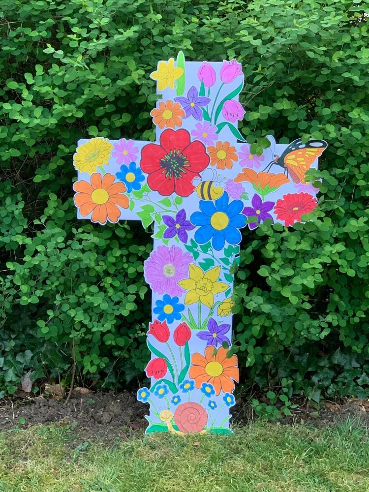 Floweery Cross