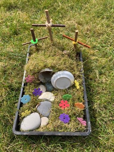 Julie's Easter garden